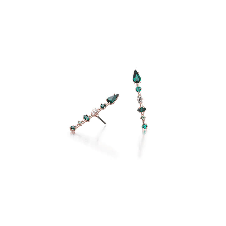 ARROW Emerald Earring