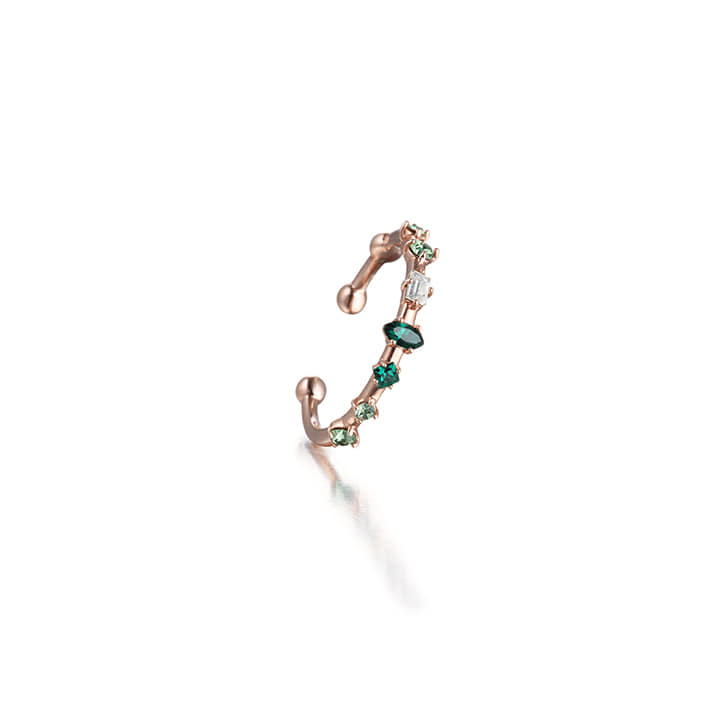 ARROW Emerald Skinny Ring