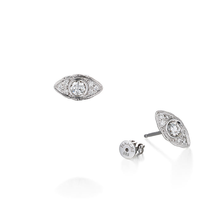 LACE DIAMOND SINGLE EARRING