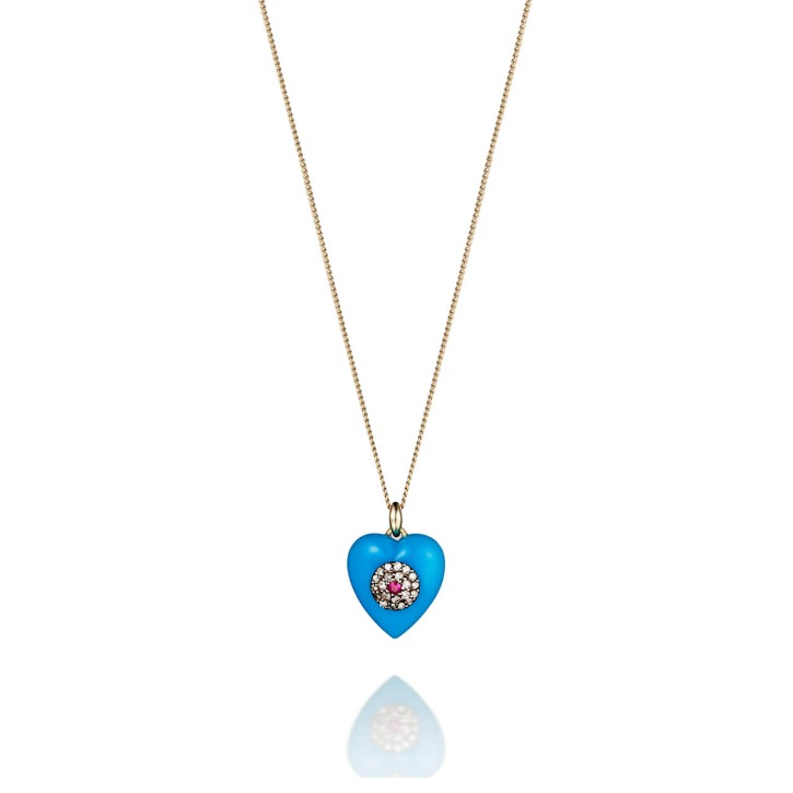 HEART TURQUOISE NECKLACE